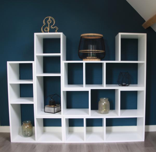 Wandmeubel Vakkenkast Woodit Interieur