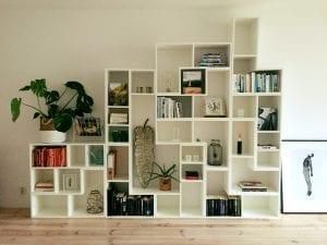 Boekenkast en accessoires vakkenkast